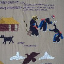 Image of Unknown Hmong, The Three Stories of Hmong Embroidery (detail)