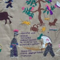 Image of Unknown Hmong, The Three Tales of Hmong Embroidery (detail)