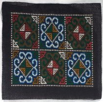 Image of Unknown Hmong, Flower Cloth