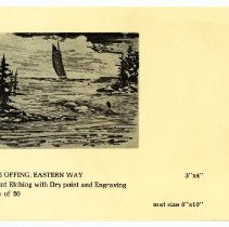 Image of In the Offing, Eastern Way card