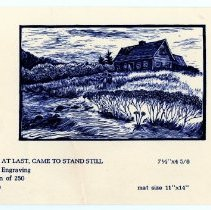 Image of 'Time, at last, came to stand still' card