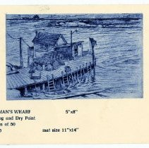 Image of Norman's Wharf card