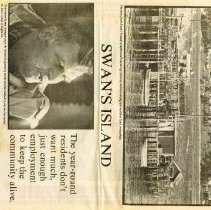 "Image of ""Winter on Swan's Island."" B."
