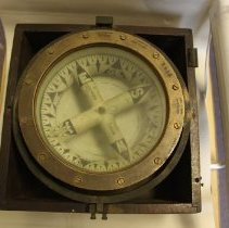 Image of 1872 ship's compass