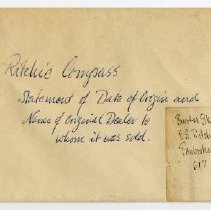 Image of E.S. Ritchie & Sons letter b.