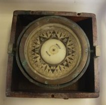 Image of 1931 ship's compass