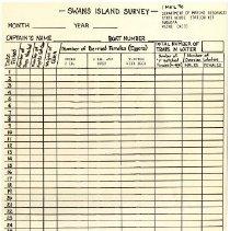 Image of Swan's Island Survey
