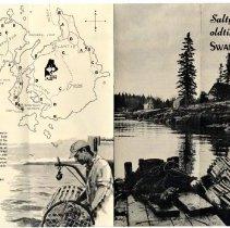 Image of Swan's Island advertising brochure A.