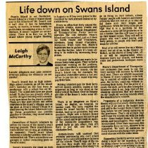 Image of 'Life down on Swans Island'