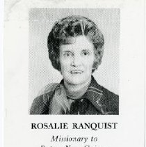 Image of Rosalie Ranquist