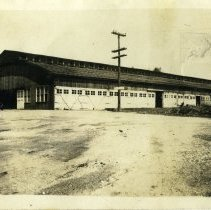 Image of Motor transport building  - Schoening Photograph Collection