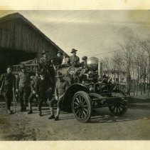 Image of Fire department - Schoening Photograph Collection