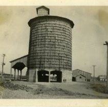 Image of Grain elevator  - Schoening Photograph Collection