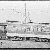 Image of Louisville Streetcars and Interurban Cars: City Car No. 883 - James B. Calvert Photograph Collection