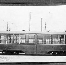 Image of Louisville Streetcars and Interurban Cars: City Trailer No. 349 - James B. Calvert Photograph Collection