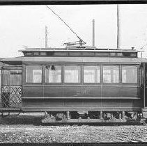 Image of Louisville Streetcars and Interurban Cars: Owl Car No. 266 - James B. Calvert Photograph Collection