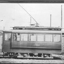 Image of Louisville Streetcars and Interurban Cars: Owl Car No. 266 Left Side - James B. Calvert Photograph Collection