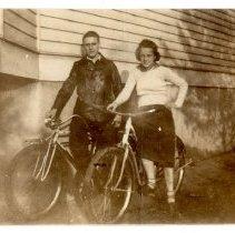 Image of Novia James White and Nanette von Siebenthal - Novia James White Photograph Collection