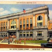 Image of Louisville's Service Club - Postcard Collection
