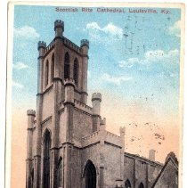Image of Scottish Rite Cathedral - Postcard Collection
