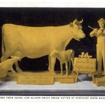 Image of Butter Sculpture - Postcard Collection