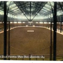 Image of Kentucky State Fair Live Stock Pavillion - Postcard Collection
