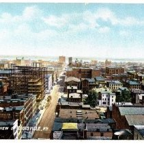Image of Bird's-eye view of Louisville - Postcard Collection