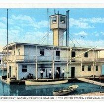 Image of U.S. Life Saving Station - Postcard Collection