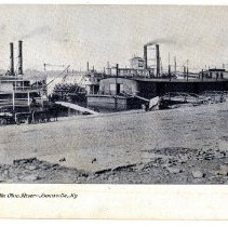 Image of Scene Along the Ohio River - Postcard Collection