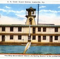 Image of U. S. Coast Guard Station - Postcard Collection