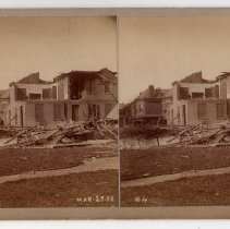 Image of Storm-damaged homes - Subject Photograph Collection