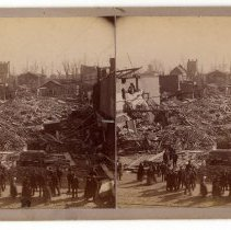 Image of Storm-damaged buildings - Subject Photograph Collection