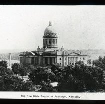Image of Kentucky State Capitol Building - Edward and Josephine Kemp Lantern Slide Collection