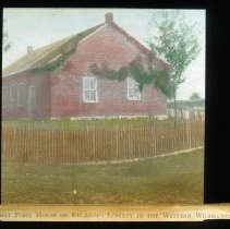 Image of First House of Religious Liberty - Edward and Josephine Kemp Lantern Slide Collection