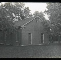 Image of Old Church - Edward and Josephine Kemp Lantern Slide Collection