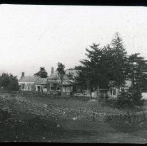 Image of The Old Lair House - Edward and Josephine Kemp Lantern Slide Collection