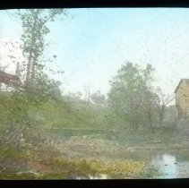 Image of Spears Mill - Edward and Josephine Kemp Lantern Slide Collection