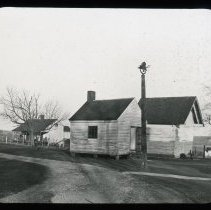Image of School House   - Edward and Josephine Kemp Lantern Slide Collection