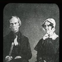 Image of Henry and Lucretia Clay - Edward and Josephine Kemp Lantern Slide Collection