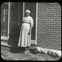 Image of Aunt Frances - Edward and Josephine Kemp Lantern Slide Collection