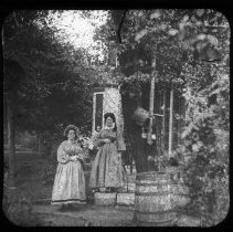 Image of Unidentified Women - Edward and Josephine Kemp Lantern Slide Collection