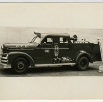 Image of Fire engine - Seagrave Corporation Collection