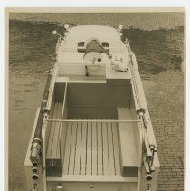 Image of Fire engine hose bed - Seagrave Corporation Collection