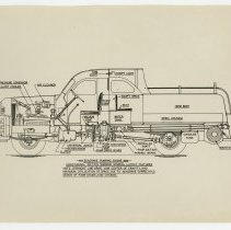 Image of Fire engine diagram - Seagrave Corporation Collection