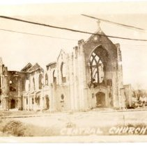 Image of The Central United Methodist Church in Manila, Philippines - Novia James White Photograph Collection