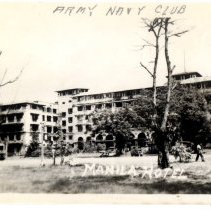 Image of The Manila Hotel in the Philippines  - Novia James White Photograph Collection