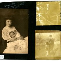 Image of Sam M. Hays and The McCullough Sisters - William Shakespeare Hays Photograph Collection