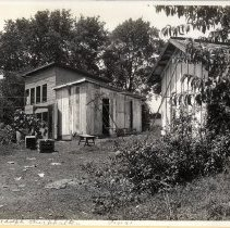 Image of Camp Zachary Taylor: Adolph Burkhalter's property  - Camp Zachary Taylor Photograph Album