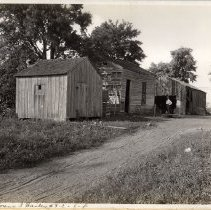 Image of Camp Zachary Taylor: Lorena S. Bailey's property  - Camp Zachary Taylor Photograph Album