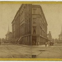 Image of Fourth Street Scene - Louisville Stereocard Collection